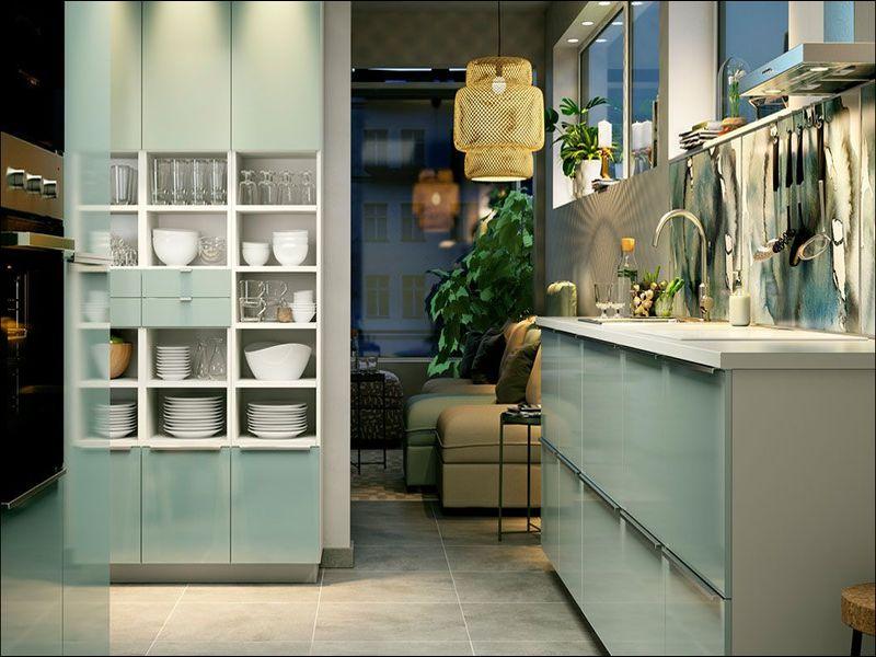Ikea keuken groen bestekeuken