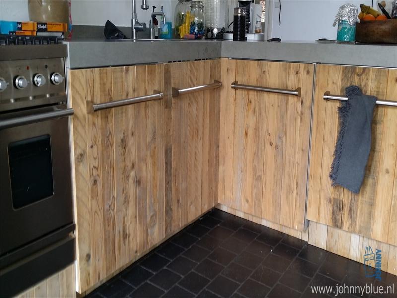 Image for Steigerhouten Keuken Ikea