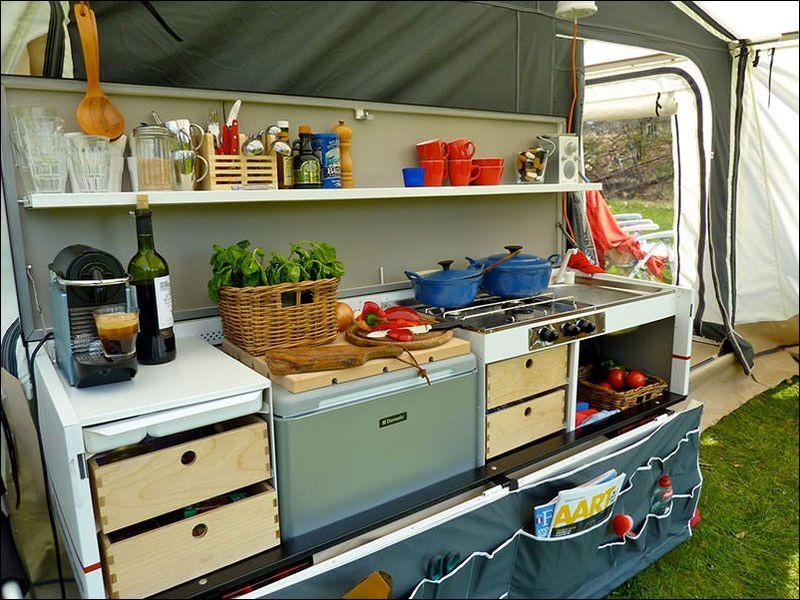 Vouwwagen Met Keuken