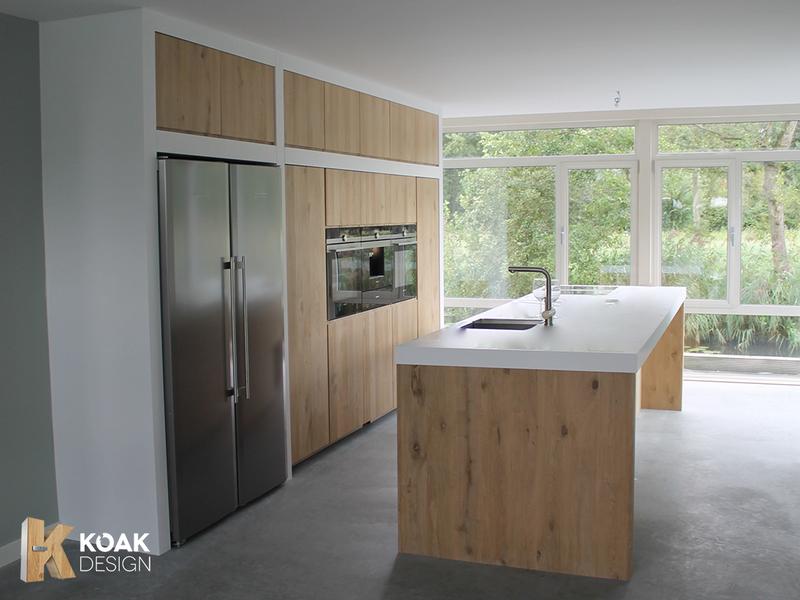 Houten panelen keuken bestekeuken