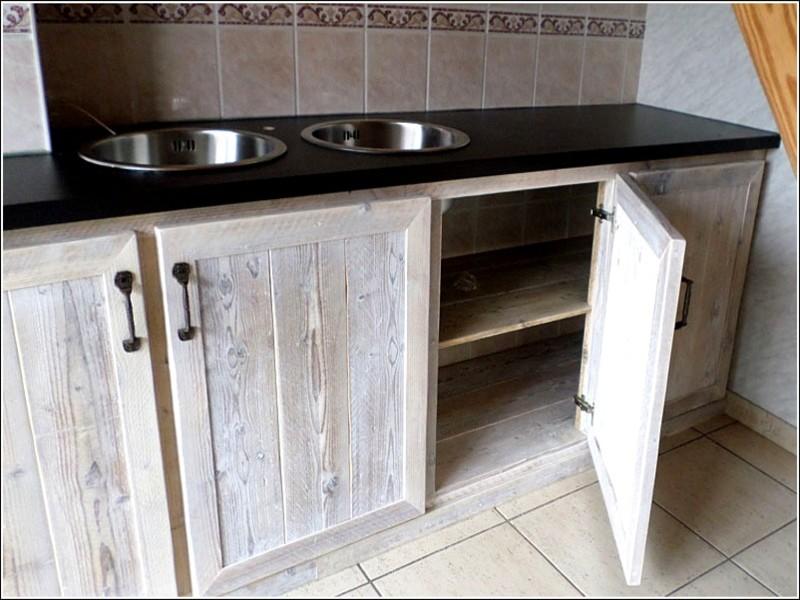 Keuken Zelf Maken : Keuken van steigerhout zelf maken bestekeuken