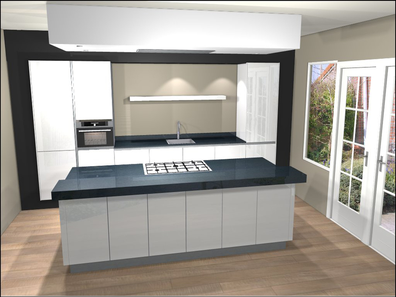 Image for Plattegrond Keuken Met Kookeiland