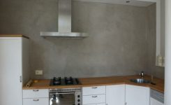 Achterwand Keuken Verven