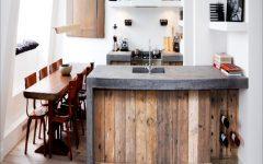 Keuken Steigerhout Beton