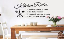 Keuken Stickers Tekst
