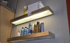 Wandplank Met Verlichting Keuken