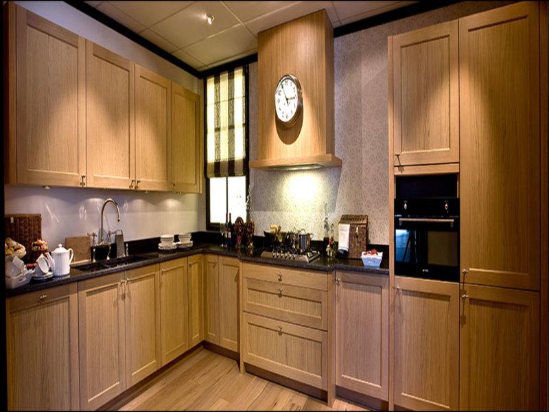 Blank Eiken Keuken