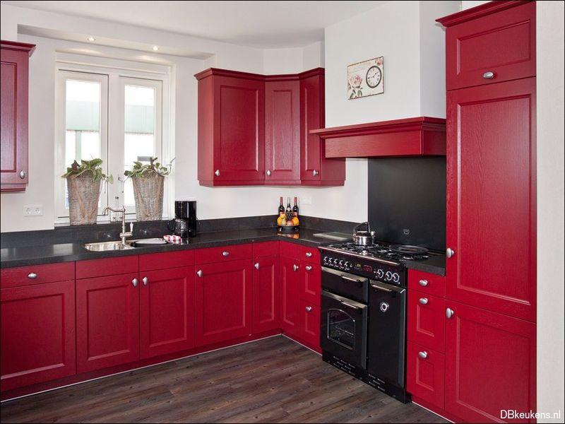 Bordeaux Rode Keuken