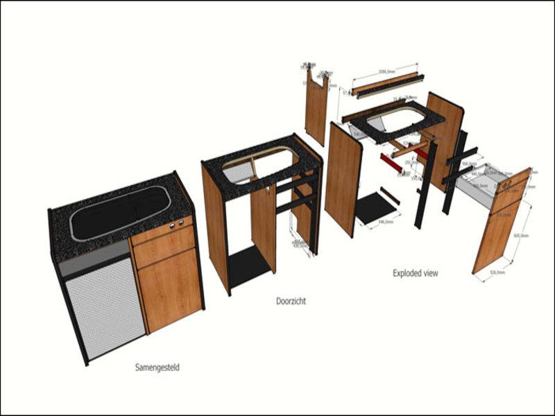 Camper Keuken Onderdelen