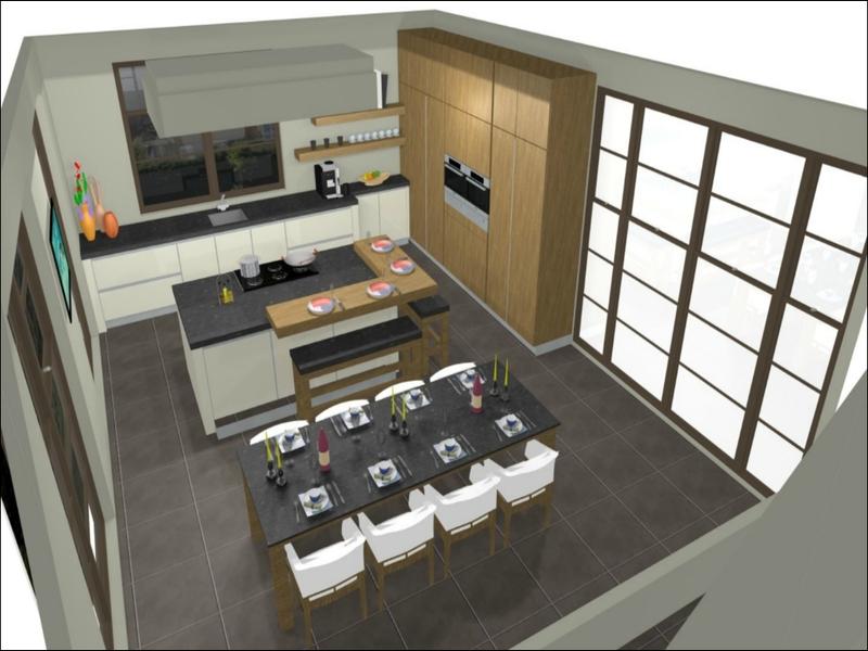 Keuken 3d Tekenen