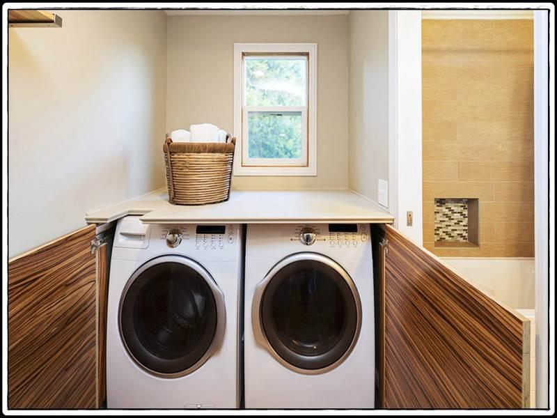 Wasmachine Wegwerken Keuken