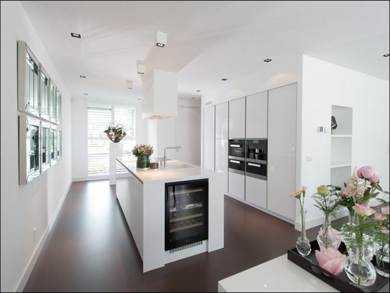 Witte Keuken Wit Blad