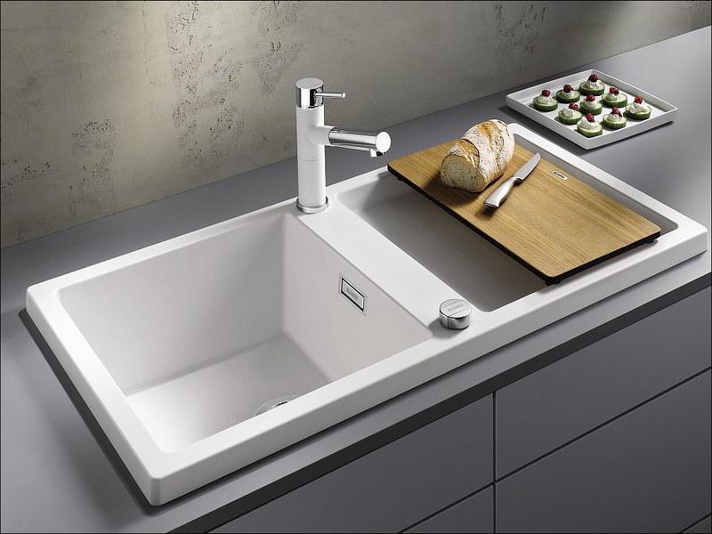 Witte Spoelbak Keuken
