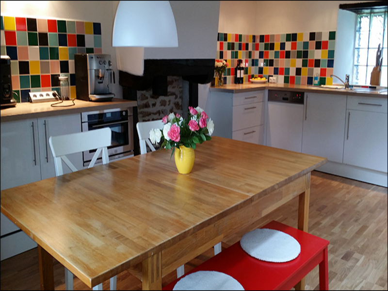 Gekleurde Wandtegels Keuken