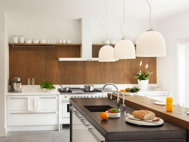 Houten Achterwand Keuken