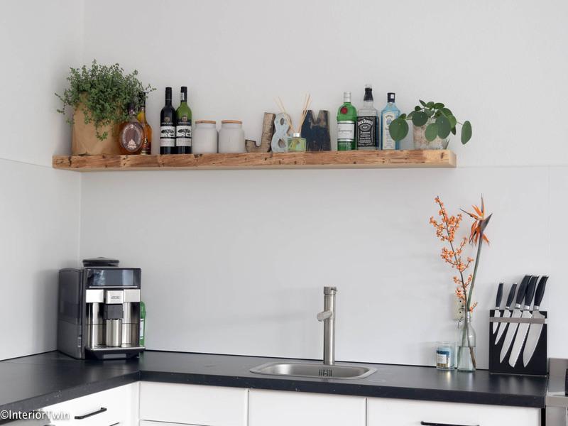 Houten Plank Keuken