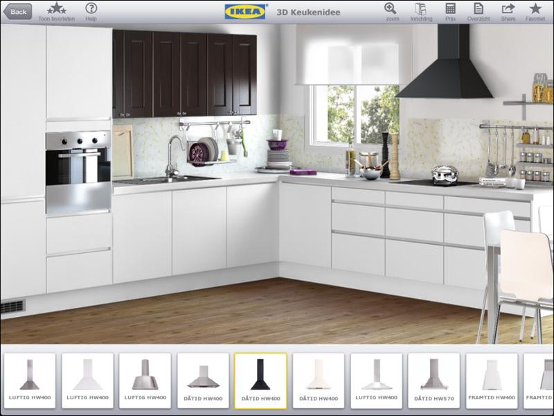 Keuken Ontwerpen App