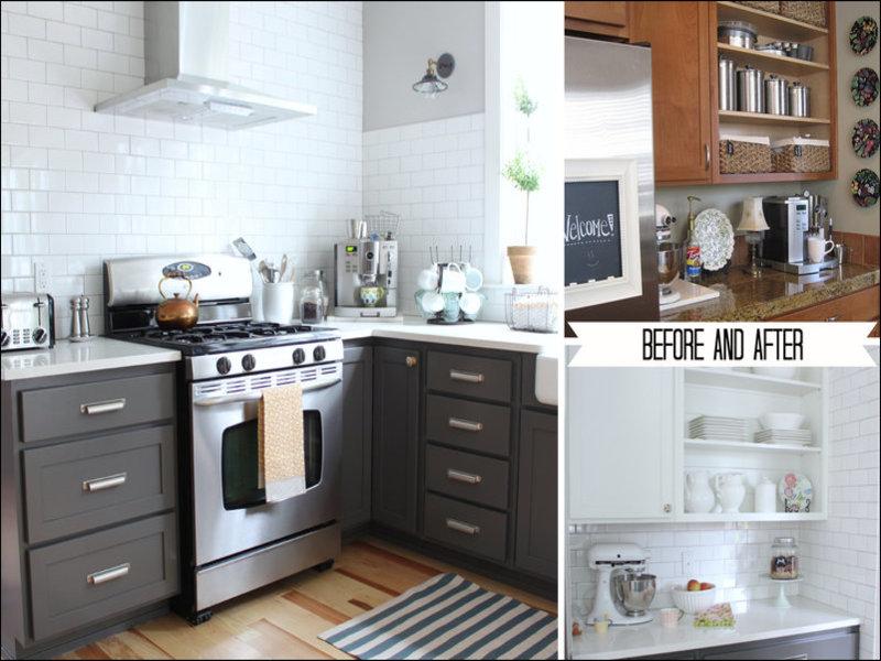 Keuken Verven Voor En Na