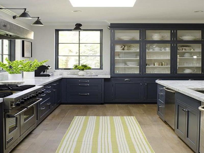 Landelijke Keuken Blauw