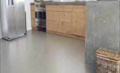 gietvloer betonlook keuken
