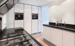 hoogglans keuken schoonmaken