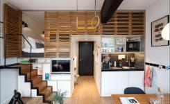 hotelkamer met keuken
