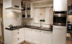 keuken met kookplaat in de hoek