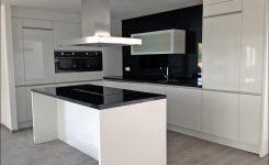l keuken hoogglans wit